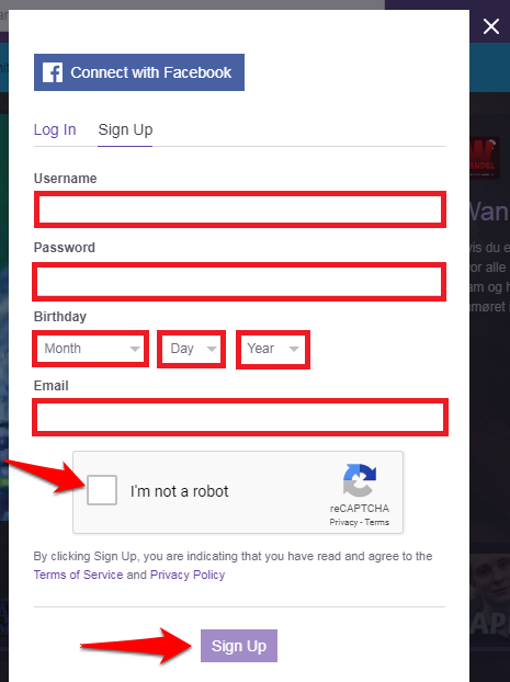 twitch-sign-up-form